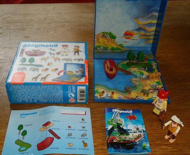 Playmobil micro Arche Noah magnetisch 4  4332