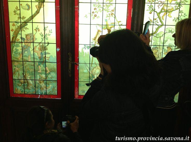 Invasori digitali a Villa Rosa