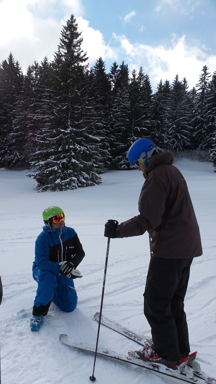 The advantage of private ski instruction in Lenzerheide with Epic is that the pace of the lesson is up to you.