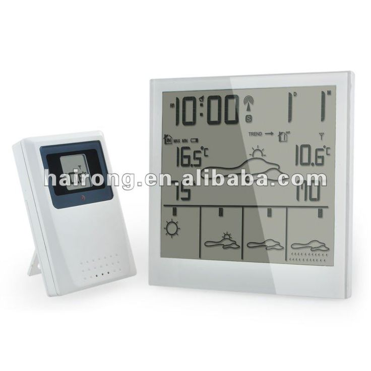 New Radio Controlled Clock with 5 days weather forecast