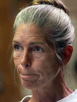 """CTL - Leslie Louise Van Houten (born August 23, 1949) is a former member of Charles Manson's """"Family"""" who was convicted of the murders of Leno and Rosemary LaBianca. Van Houten is described by supporters and prison staff as a model prisoner. She is a college tutor and is studying for a master's degree in humanities. In 40 years, she has never had an infraction on her prison record."""