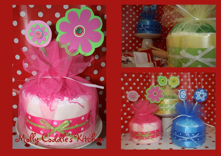 Small nappy cake idea