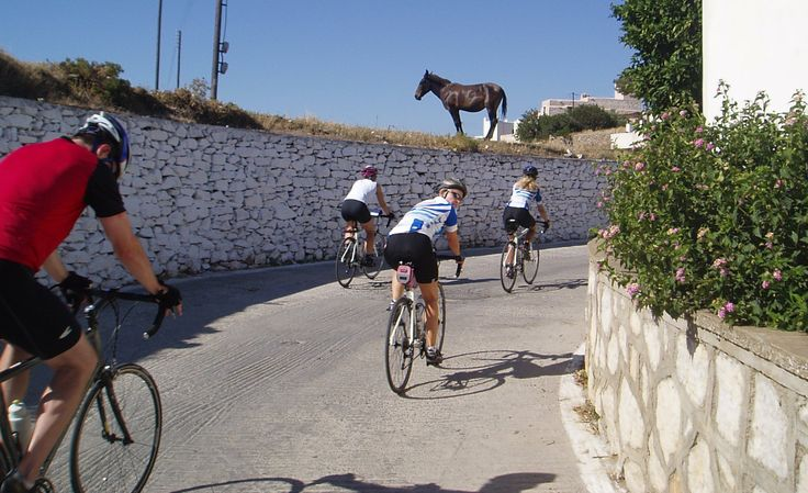 We take a short cut through the tiny village of Sagri en route to the Temple of Dimitra.
