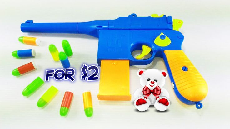 Realistic Toy Gun for $2 Classic Mauser Pistol for Kids - Toy Gun for Kids