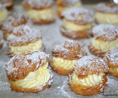 cream puffs pastry