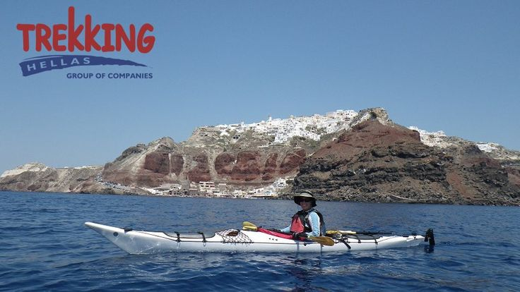 Sea Kayaking Santorini