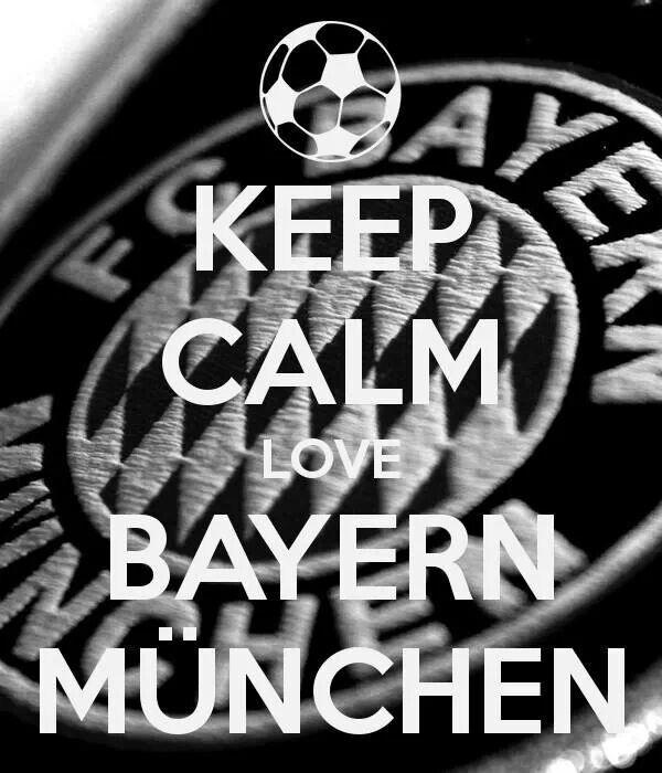 Keep calm Love Bayern