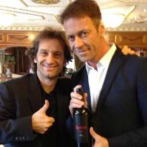 l ex star du porno rocco siffredi s associe avec l ancien coureur de formule 1 jarno trulli pour. Black Bedroom Furniture Sets. Home Design Ideas