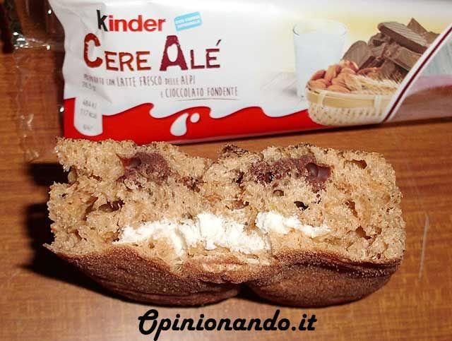 Kinder CereAlé Spezzata - #recensione #opinionando