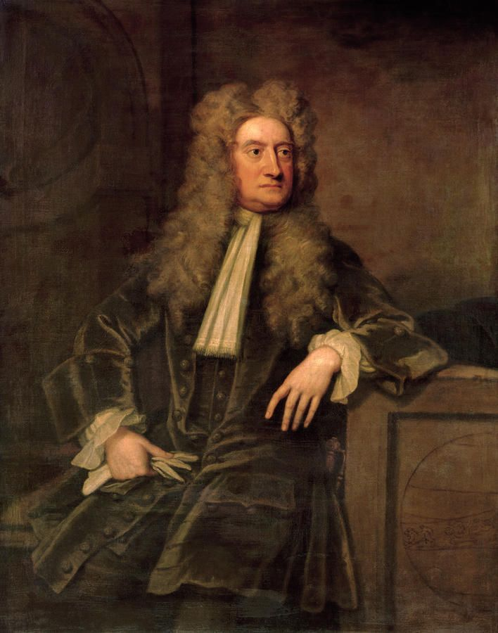 sir isaac newton painting st cousin x removed  sir isaac newton painting 1642 1727 1st cousin 9x removed ancestors artist