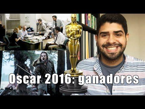 PREMIOS OSCAR 2016: GANADORES | LEONARDO DICAPRIO OSCAR 2016 !!! - YouTube