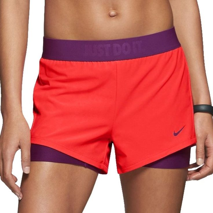 Nike circuit womens 2 in 1 woven running short size s