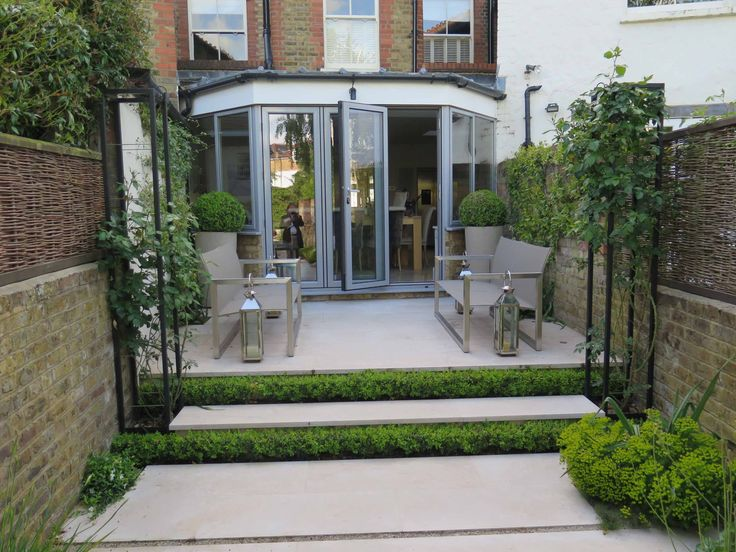 Contemporary Gardens, Garden Furniture, Terrace, Outdoor Living, Yards,  House Porch, Outdoor Life, Patio, Terraces