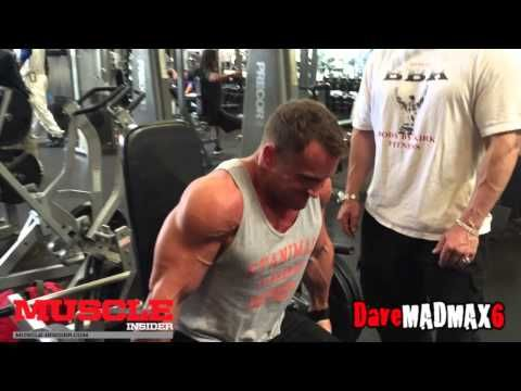 Workout with Stanimal before the Arnold Amateurs