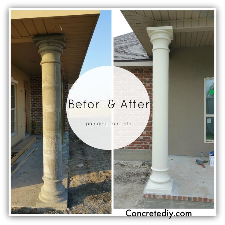 Paint For Concrete Pillars : Best concrete pillar molds images on pinterest