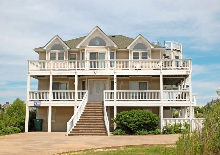Corolla Beach Houses Part - 38: Best Images About Beach Houses OBX On Pinterest