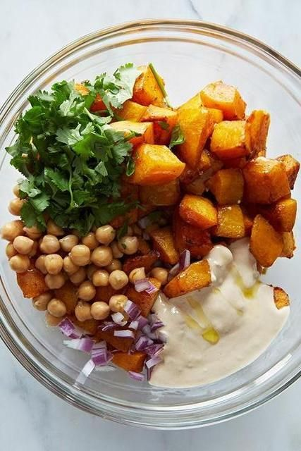 Warm Butternut Squash And Chickpea Salad Recipes — Dishmaps