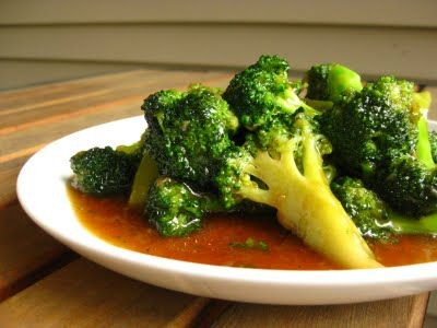 It seems wrong to put brown sugar on broccoli, but it sounds delicious.