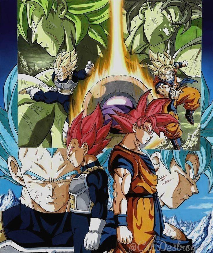 Pin Von Amir Auf Son Saya Dragon Ball Goku Bilder
