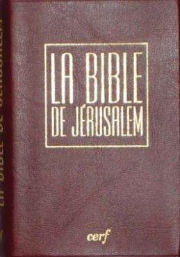 The 45 best bblia la bible la sacra bibbia images on pinterest la bible de jrusalem poche vinyle bordeaux sous tui fandeluxe Choice Image