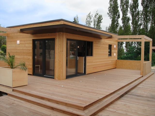 Best 25 ossature bois ideas on pinterest maisons ossature bois maison - Maison a ossature metallique prix ...