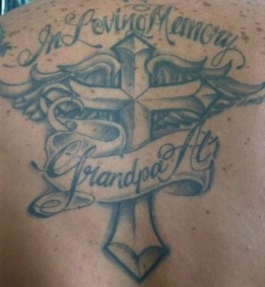 In loving memory tattoo possible idea for grandpa