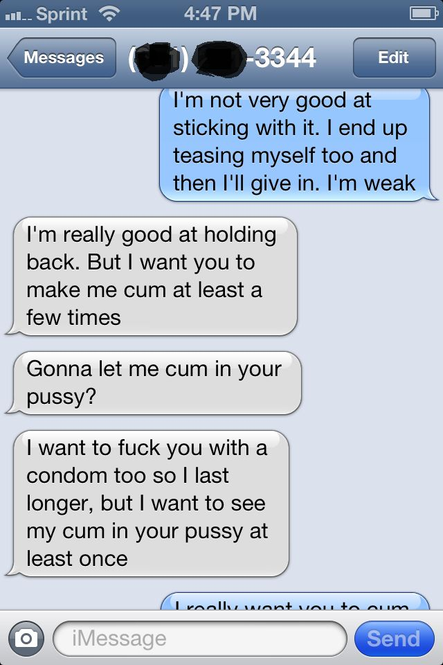 really dirty sexting examples