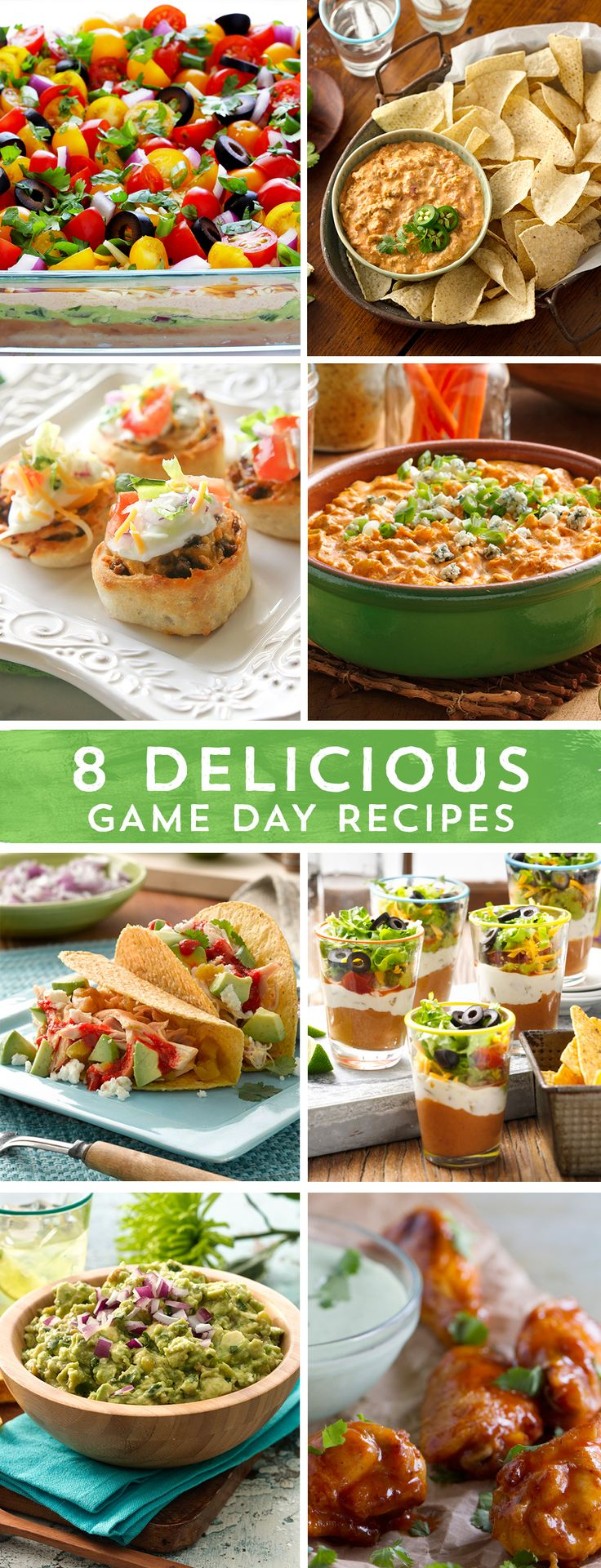 It's party time! Game Day calls for delicious snacks, and these are sure to score big with your hungry crowd! From the first down, to the very last touchdown, these party appetizers won't let you down - no matter who wins the big game!
