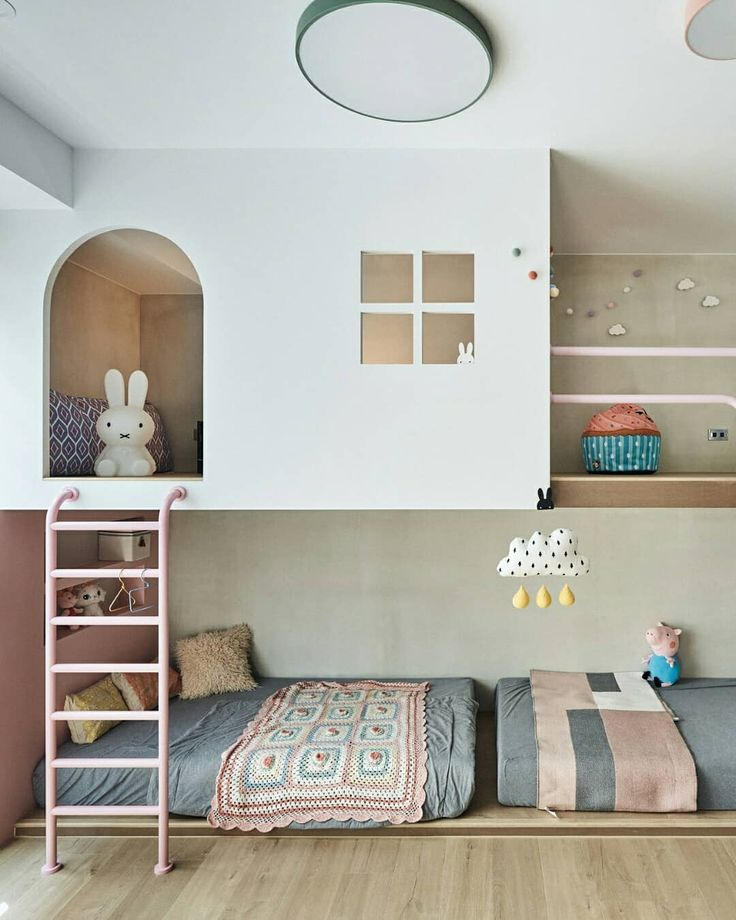 KIDS BEDROOM: Hao He.tw creates an area that goals are manufactured from. A secret passag…