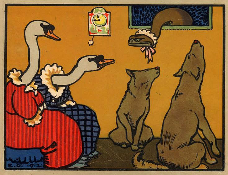 Illustrations by Eugen Osswald for Ball der Tiere (The Animals' Ball, Germany, 1917)