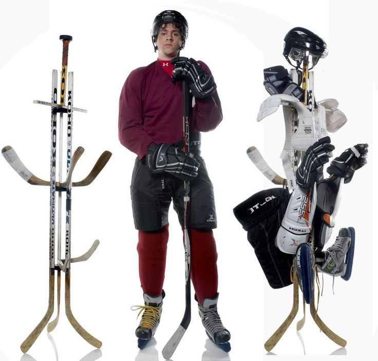 Hockey Stick Trifecta Rack: Hockey Gear Images On Pinterest