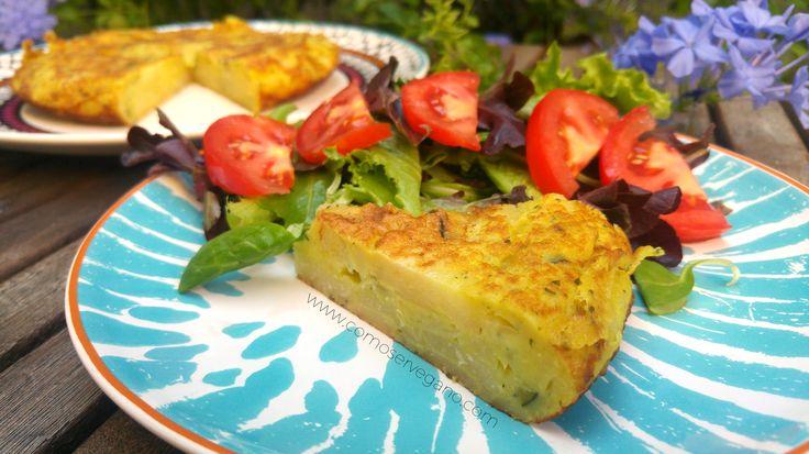 Tortilla vegana expréss | Como Ser Vegano... ¡Sin morir en el intento! | Bloglovin'
