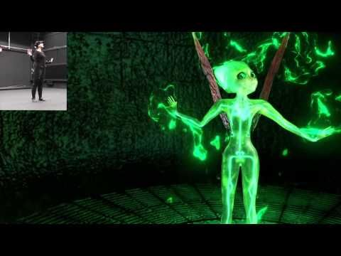 The Green #Fairy dancing - #MotionCapture #Animation