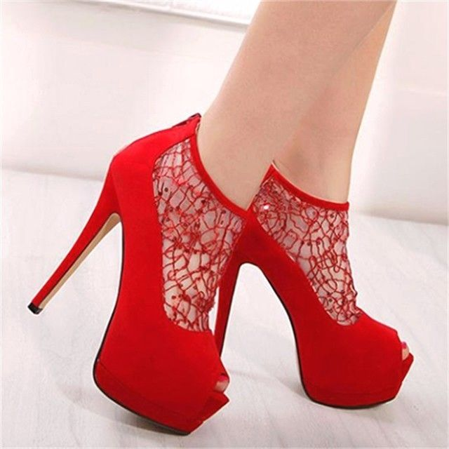 58 best Red Heels images on Pinterest | Red heels, Shoes and High ...