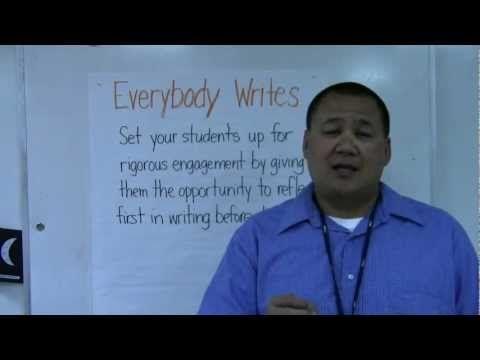 Teach Like a Champion - Everybody Writes - YouTube