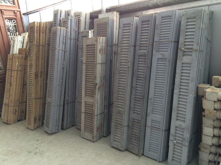 Oude luiken - Oude bouwmaterialen - Burbri // Aalsmeer