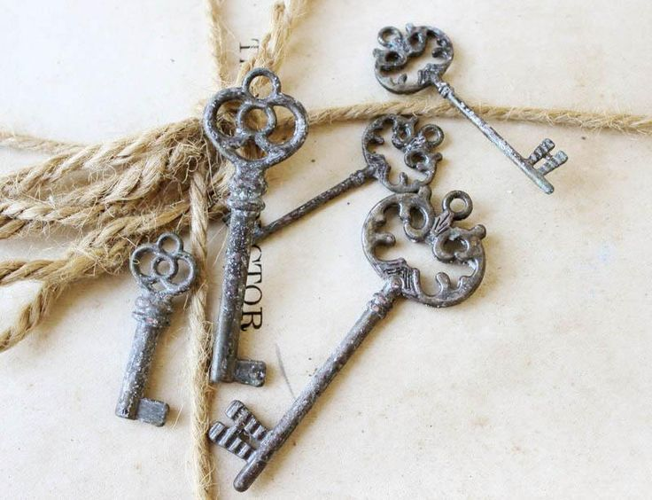 Keys to add to any home decor or simple to give to a friend.