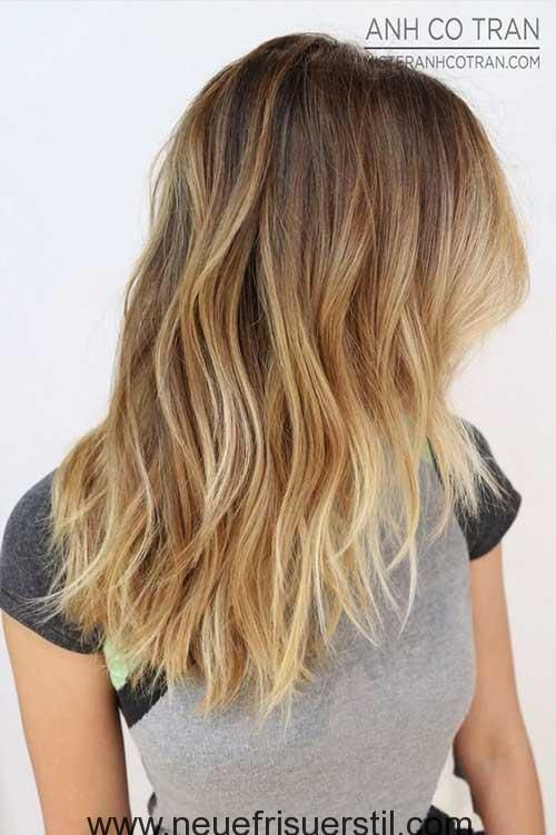 11.Lange Frisur Frauen