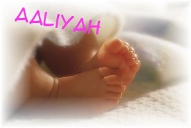 Aaliyah (meaning and origin)
