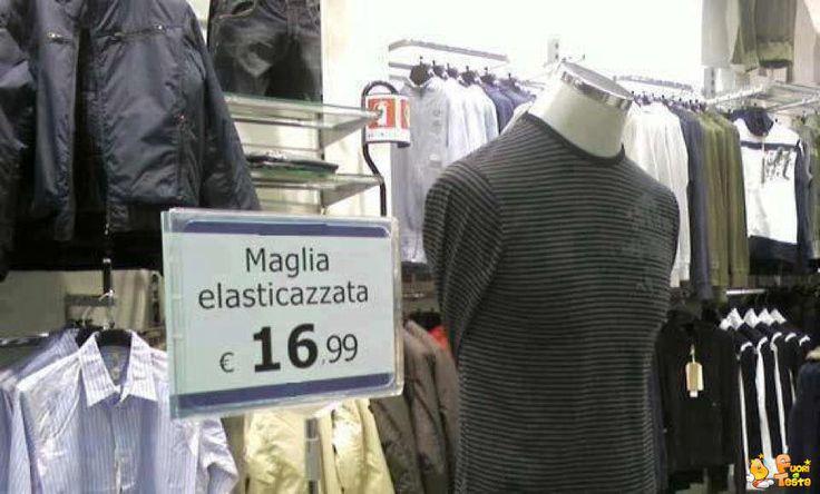 Maglia elasticazzata