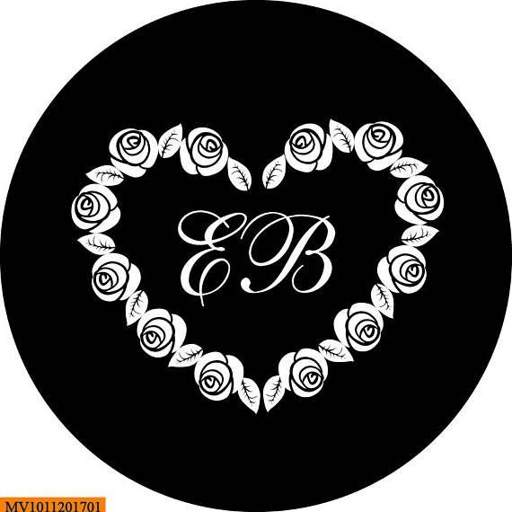 Digital Gobo Printable Gobo Design Wedding Gobo Digital Custom Personalized Gobo Monogram for Wedding