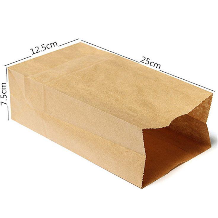 10 pçs/lote Brown sacos de papel Kraft reciclável presente jóias Food pão doce festa de compras de embalagens sacos para Boutique em Bolsas de acondicionamento de Indústria e Ciência no AliExpress.com | Alibaba Group