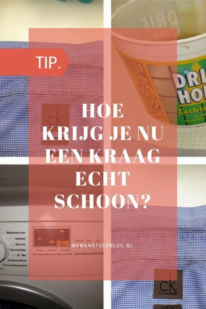 TIP: Hoe krijg je een kraag schoon   Huishoudtips