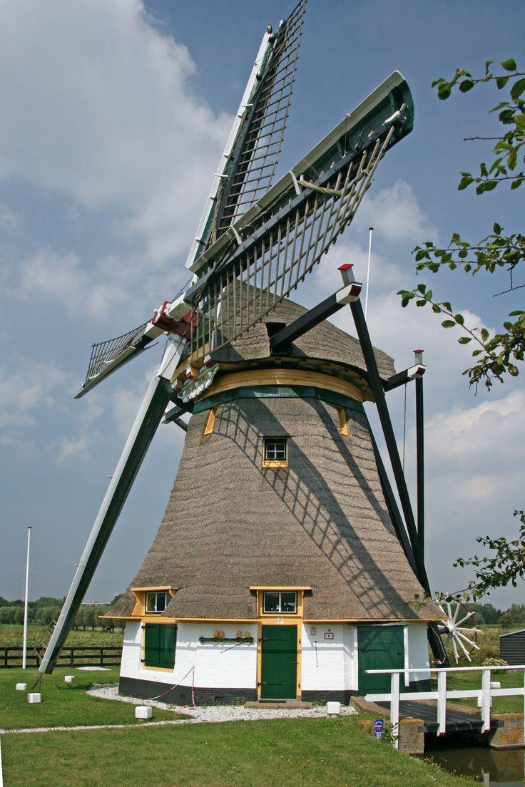 Schaapweimolen, Rijswijk, Zuid-Holland