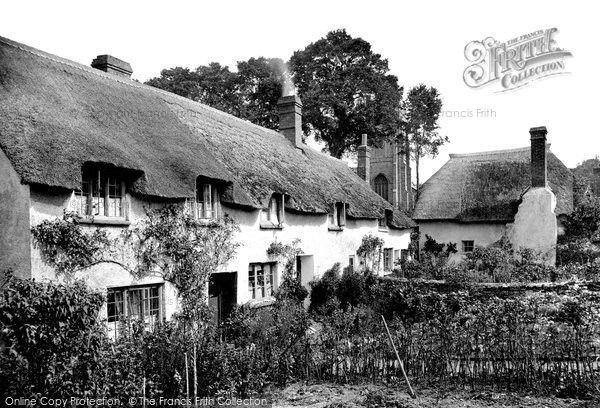 Old Cleeve, The Village 1906, from Francis Frith