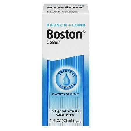 Boston Original Formula Cleaner for Rigid Gas Permeable Contact Lenses - 1 oz.