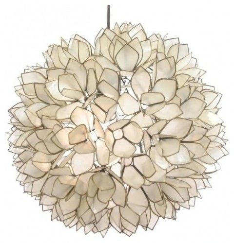 I love this lamp, and this appears to be the most affordable option out there. It fits in anywhere, I think. But, with its capiz shell material it is perfect for bringing some sea life inside.