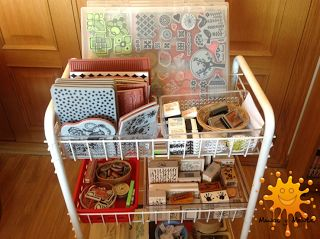 Manos y Mente: Stamping y art journal: organiza tus sellos