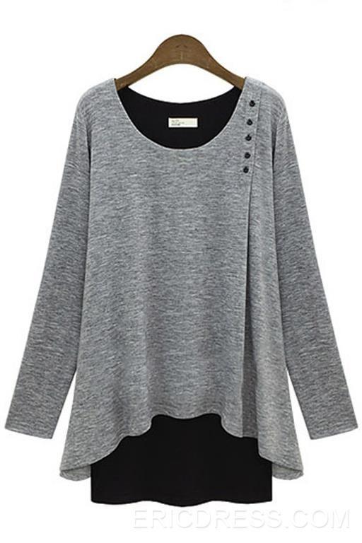 Vogue Long-sleeved T-shirt Long Sleeve T-shirts