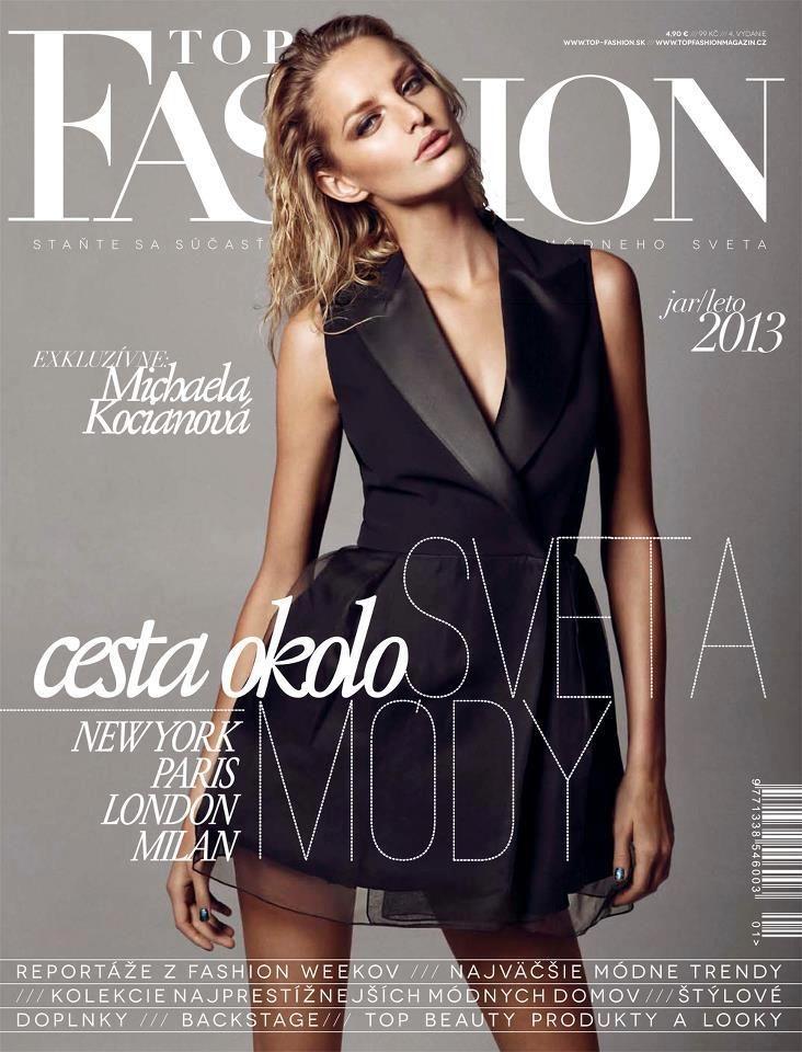 Michaela Kocianova Poses for Branislav Simoncik in Top Fashion Magazine - Fashion Gone Rogue